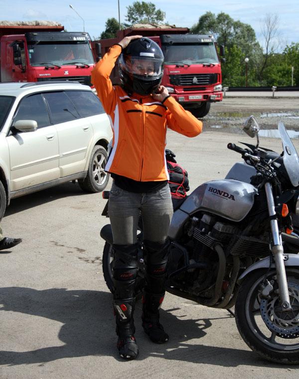 Первый мотоцикл мужа